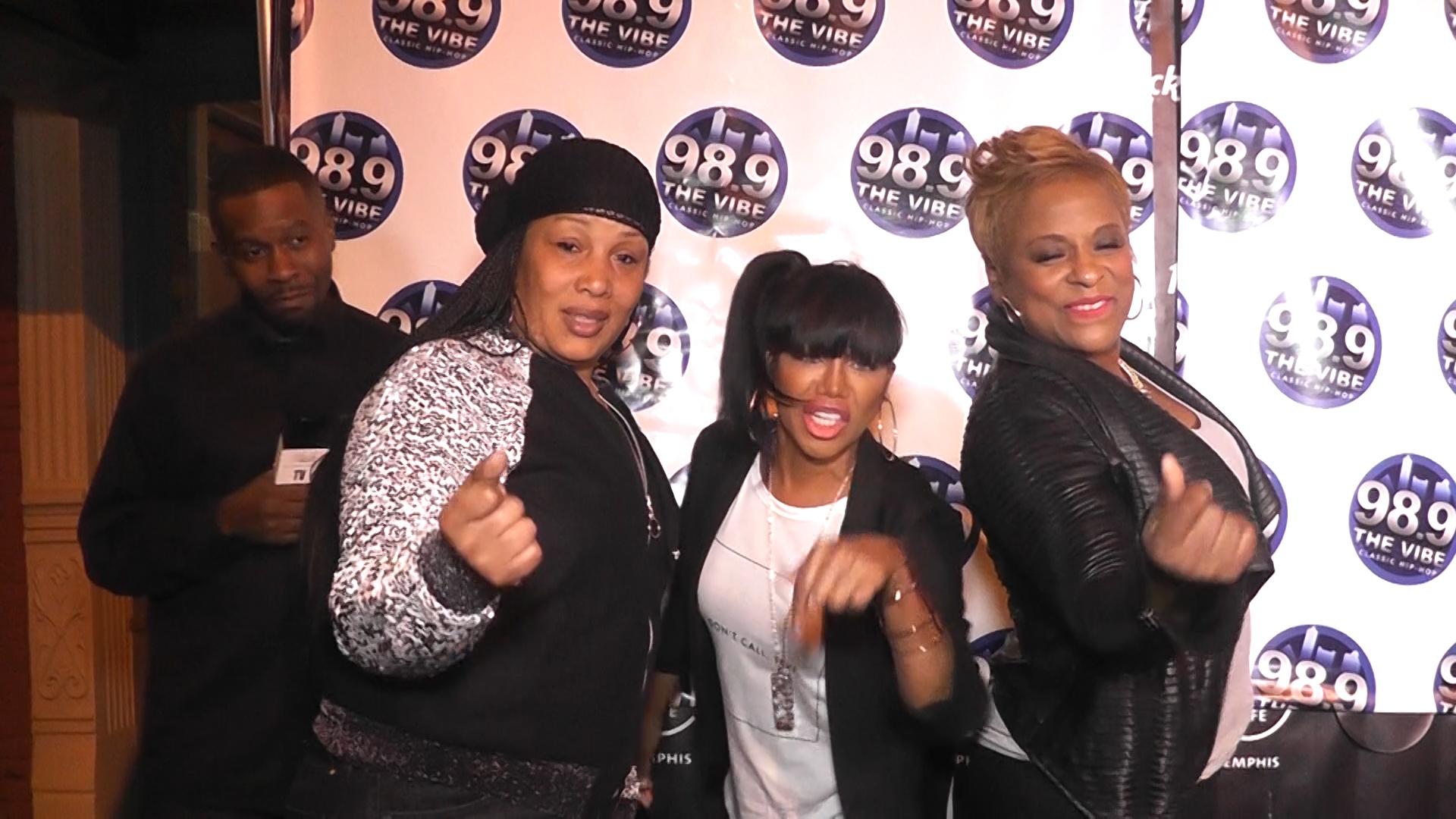 "Hip-Hop Legends at ""The Vibe"" 98.9 FM Birthday Bash"