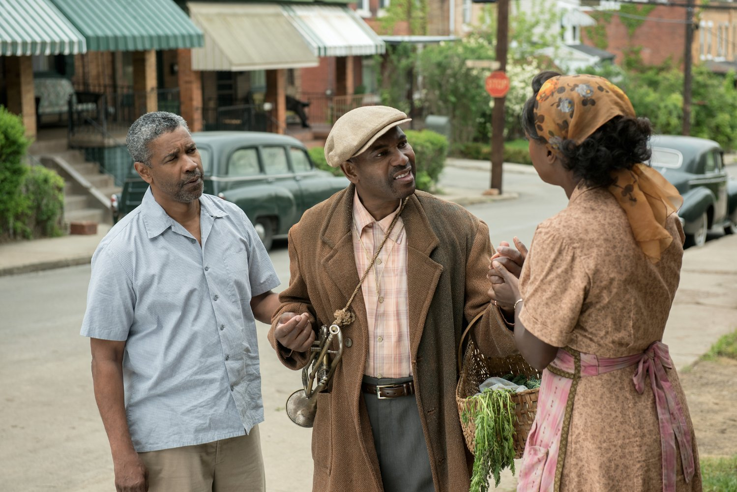"In the movie ""Fences"" Troy and Rose speaks with Gabriel"