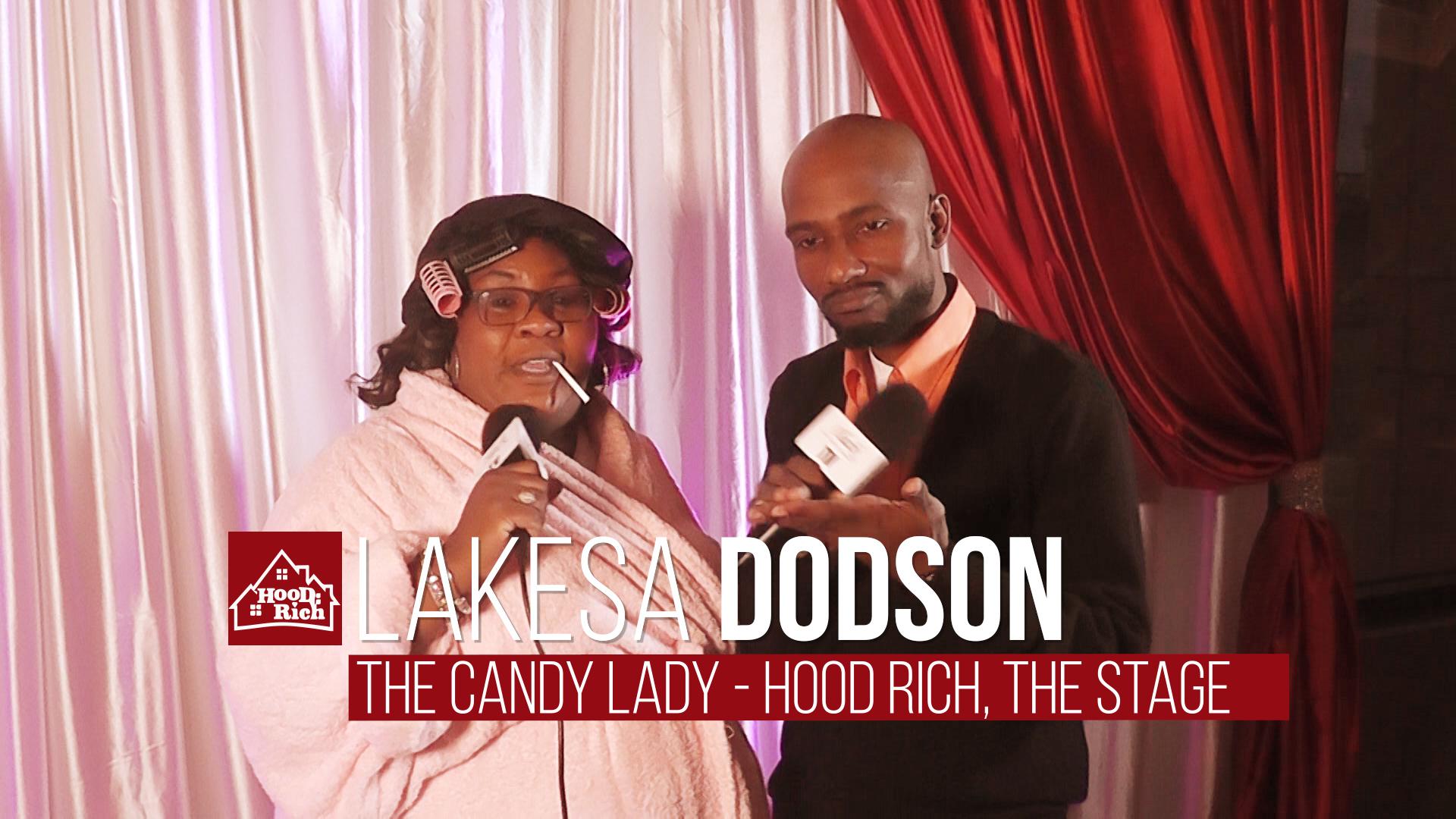 "Lakesa ""Candy Lady"" Dodson"