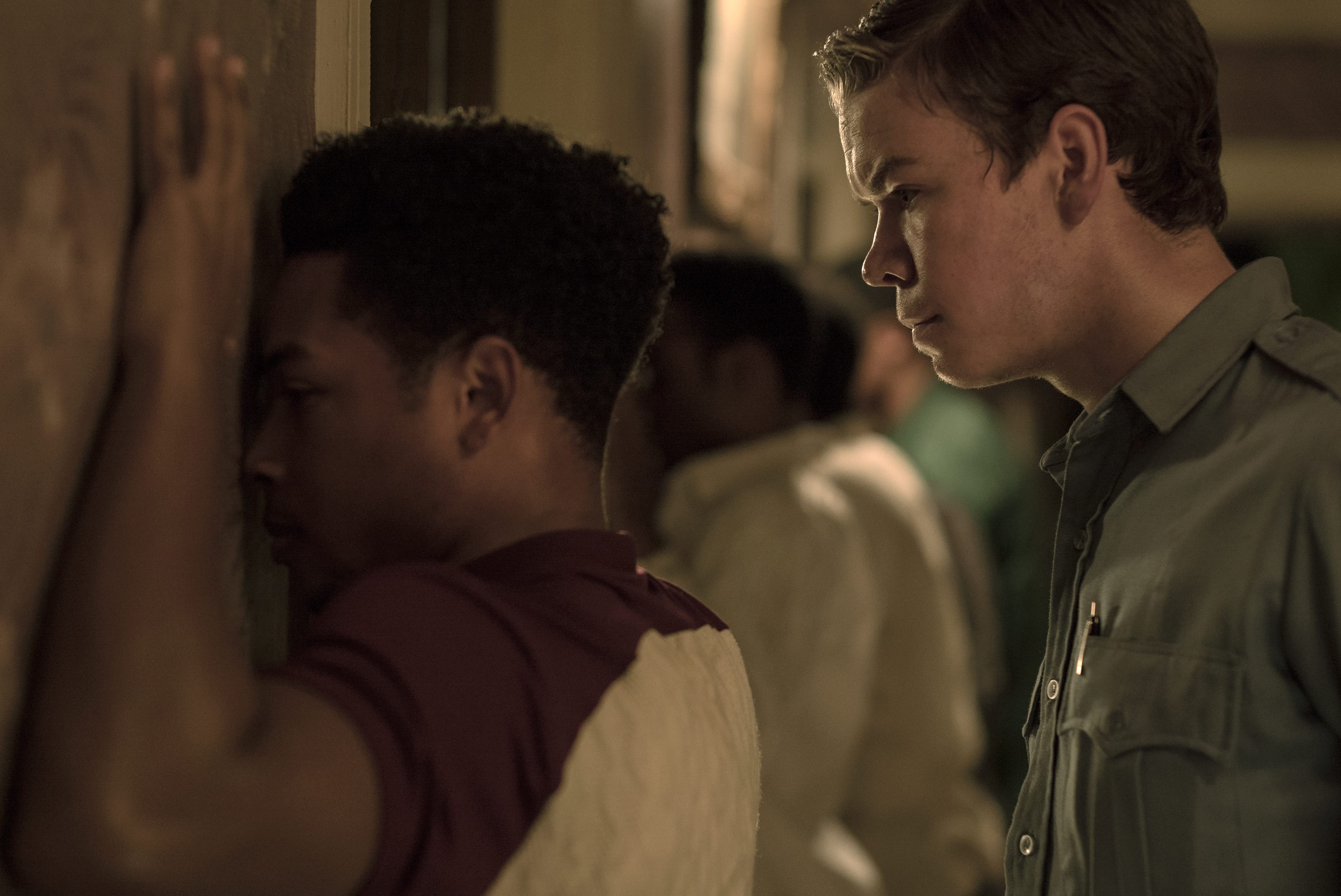 Anthony Mackie, Will Poulter, John Boyega, and Algee Smith in Detroit (2017)