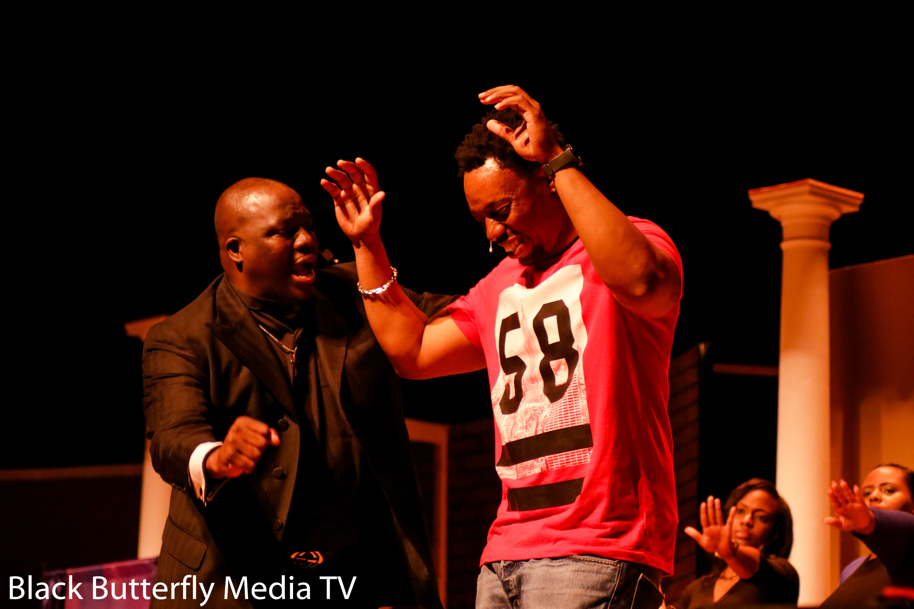 Pastor Ross and Mo'Money