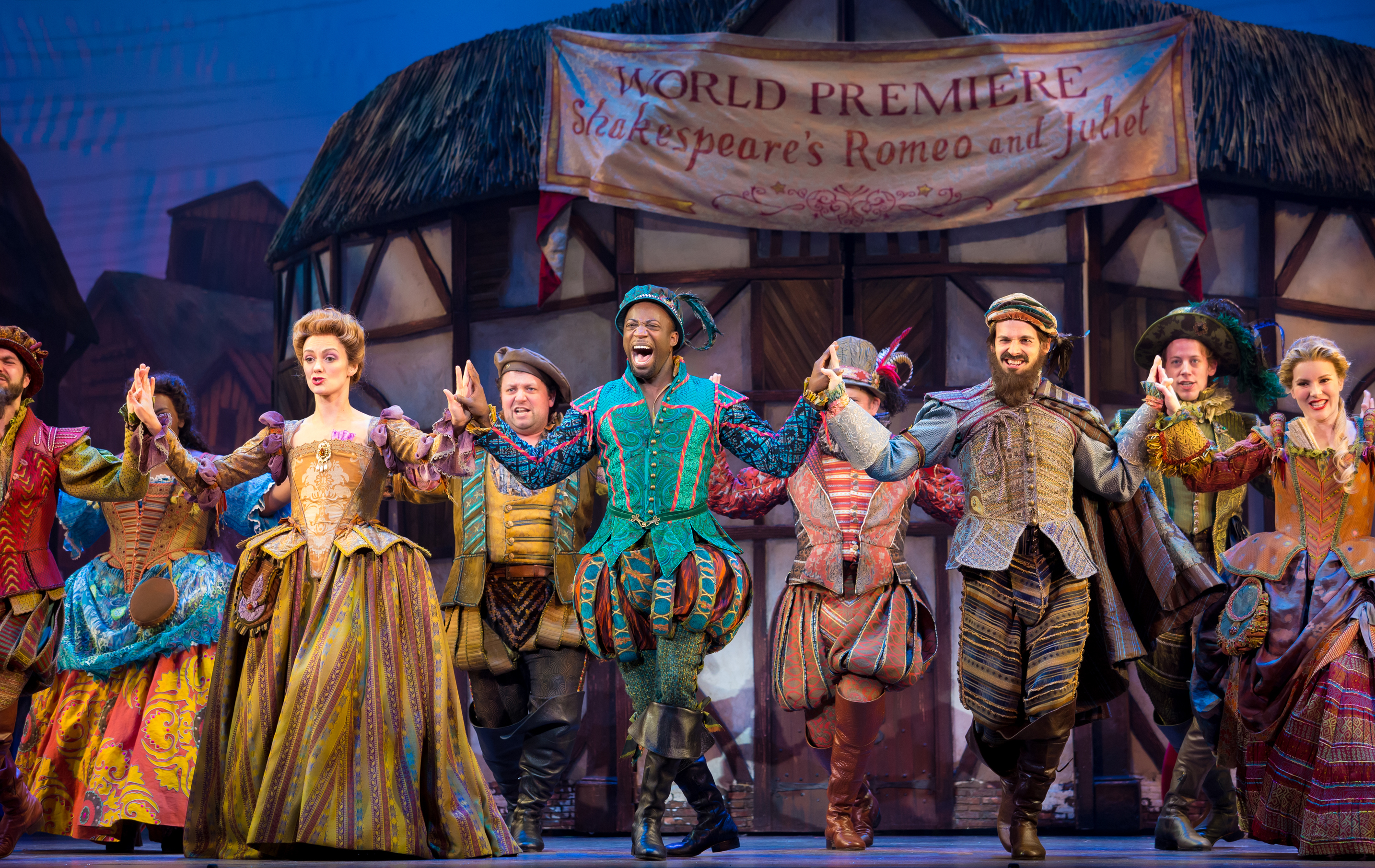 Cast of the Something Rotten! National Tour. © Jeremy Daniel (5)