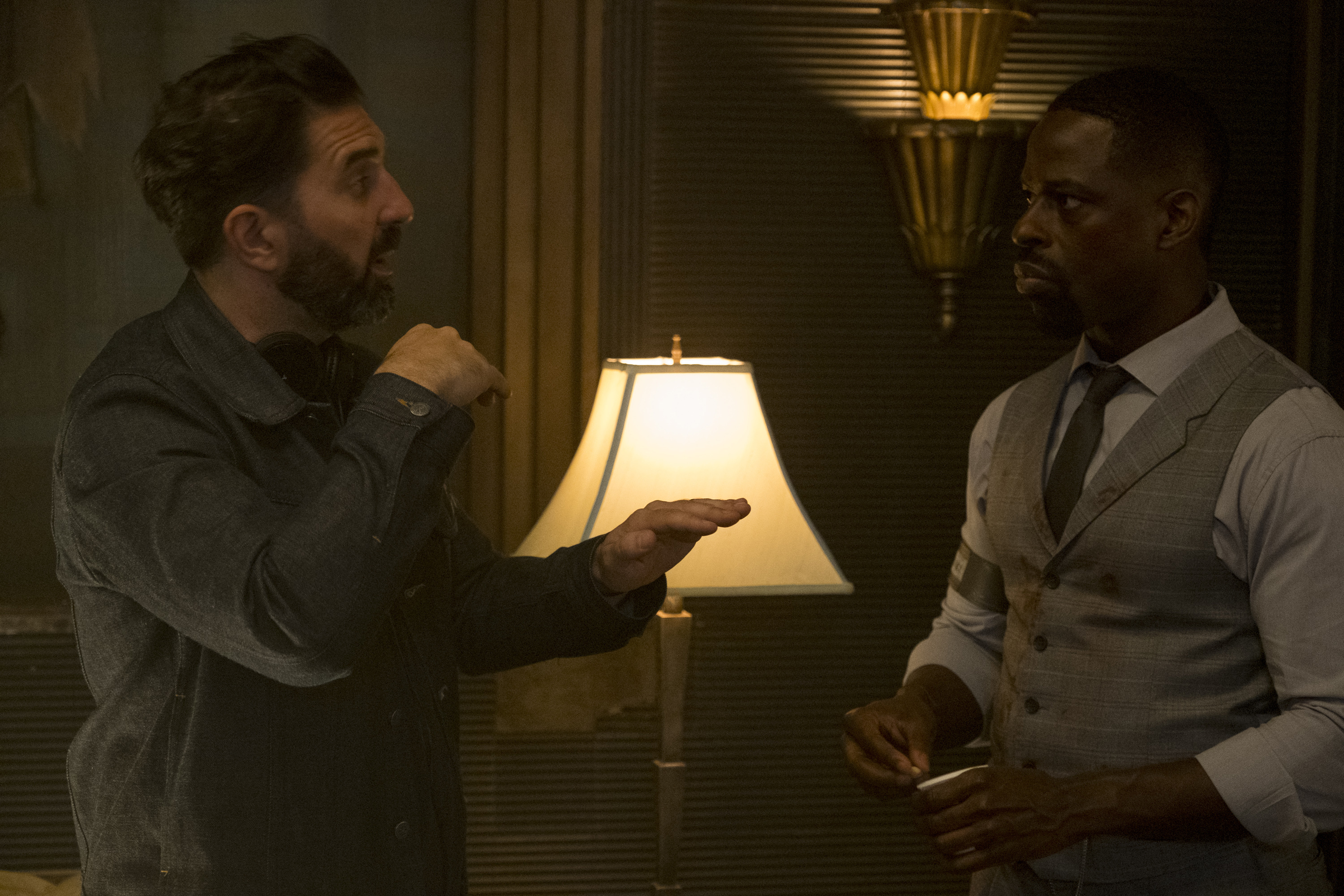 Drew Pearce and Sterling K. Brown