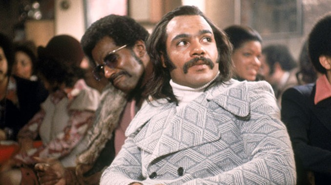 Priest (Ron O'Neal) and Eddie (Carl Lee) in SuperFly (1972)