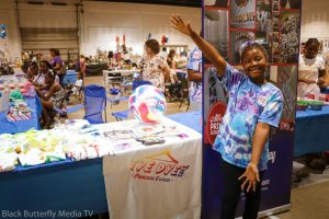 TyeDye Tees E-Lissa at Greater Memphis Children's Business Fair