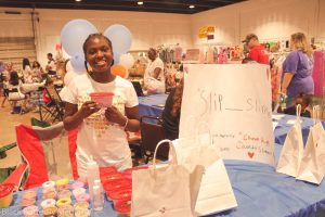 Slip_Slime at the Greater Memphis Children's Business Fair.