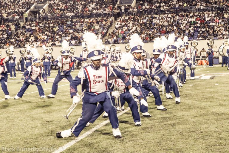 TSU Aristocrat of Bands performing at the 30th Southern Heritage Classic.