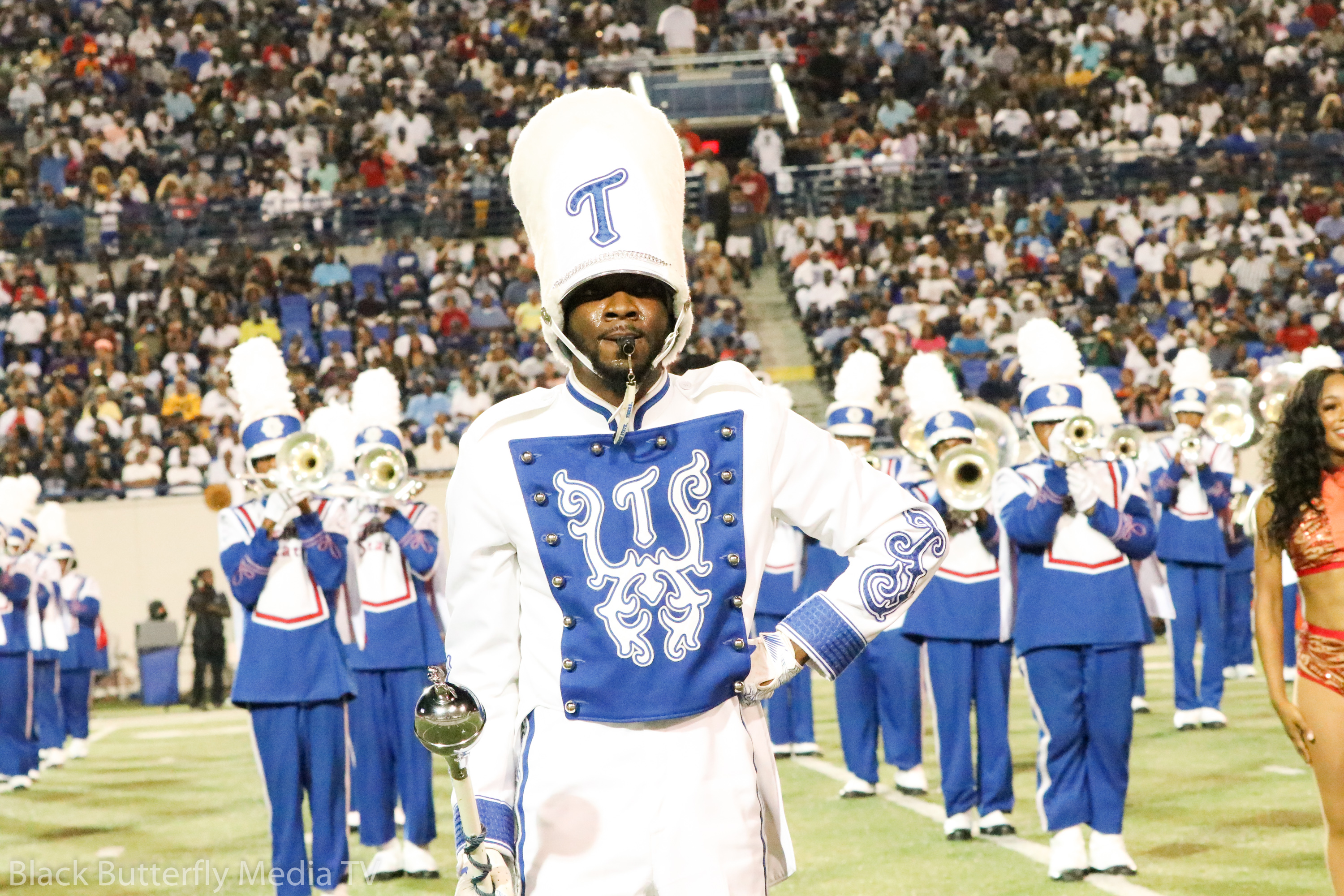TSU Marching Band at 30th Southern Heritage Classic