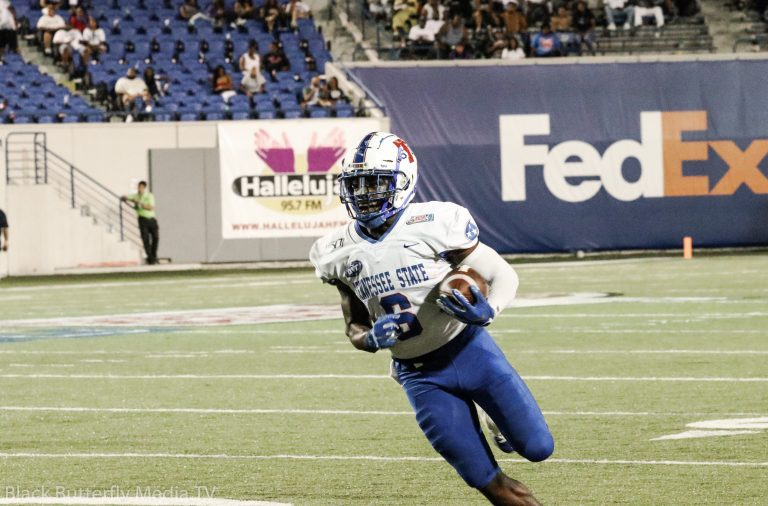 TSU Running Back Te'Kendrick Roberson at 30th Southern Heritage Classic