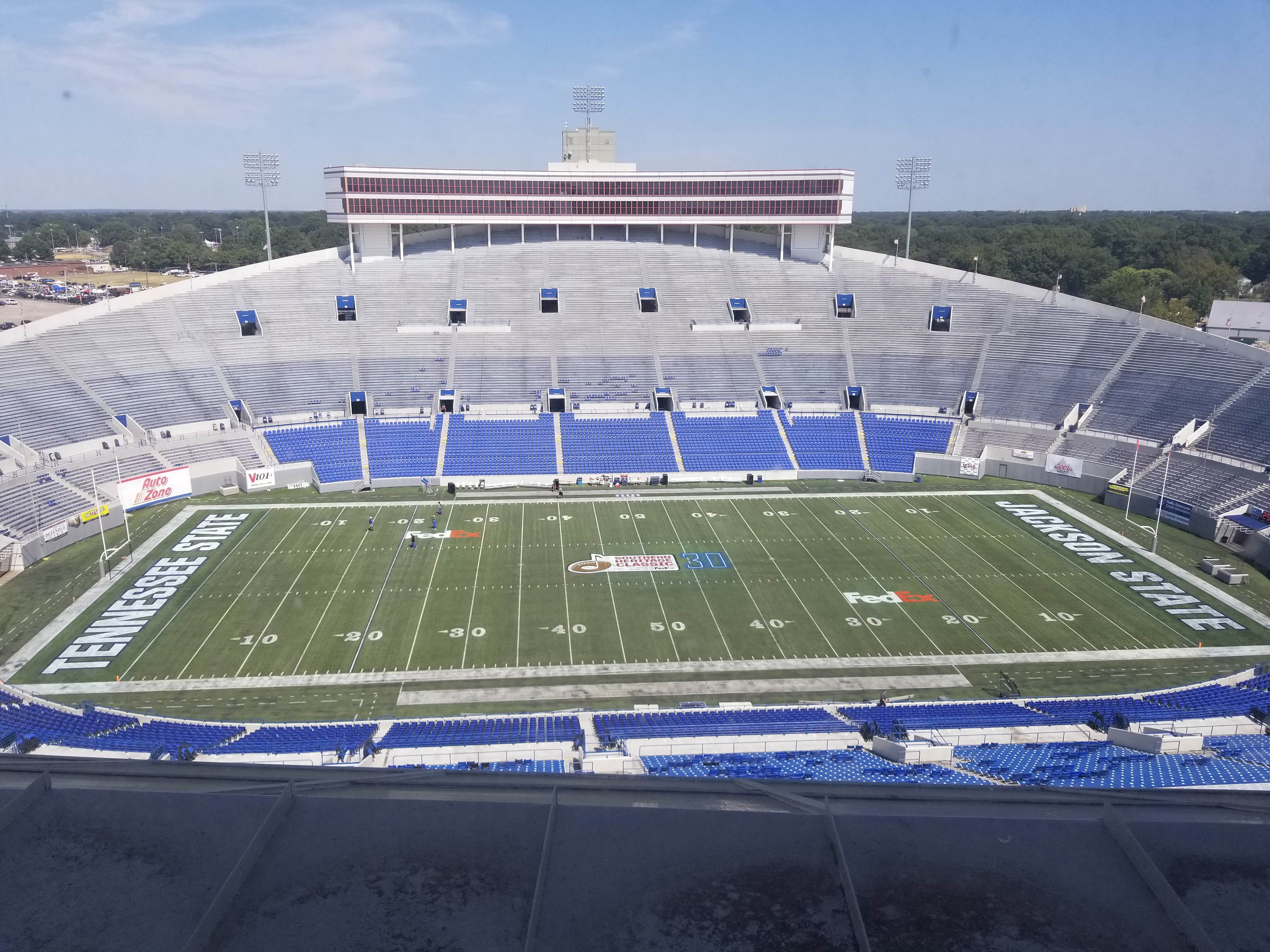 30th Annual Southern Heritage Classic at the Liberty Bowl Stadium