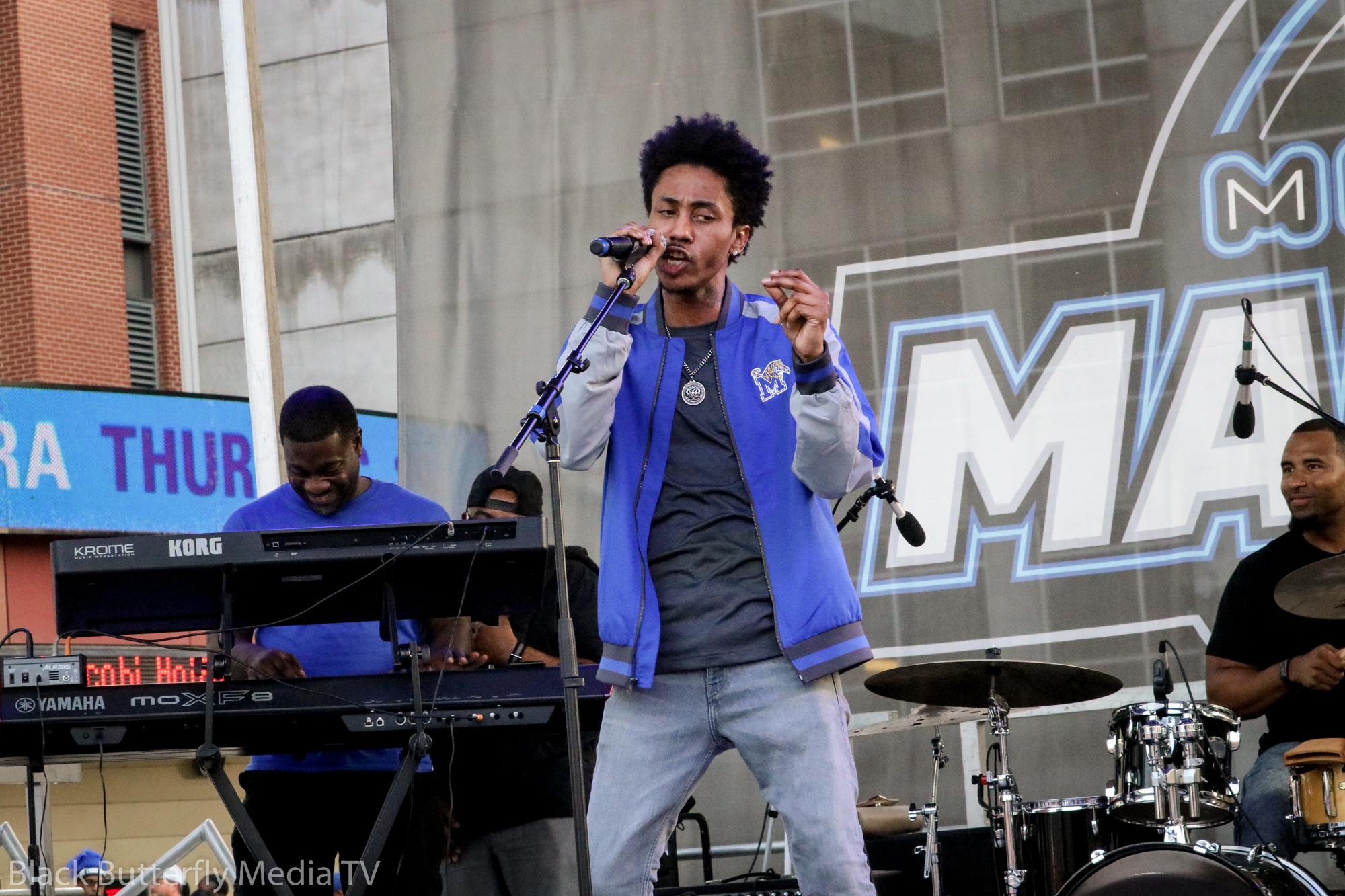 Memphis Madness musical performance.