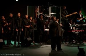 Eric Reed singing at Worship Christmas 2017 #957Christmas — at Hope Church.