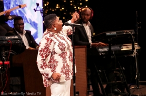 Maranda Curtis at A Worship Christmas 2017