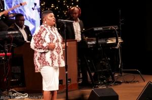 Maranda Curtis at 95.7 Hallelujah FM Worship Christmas 2017 #957Christmas — at Hope Church.