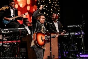 Todd Dulaney at 95.7 Hallelujah FM Worship Christmas #957Christmas — at Hope Church.