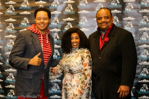 Larry Dodson II, Katrina Walker and Roland Martin
