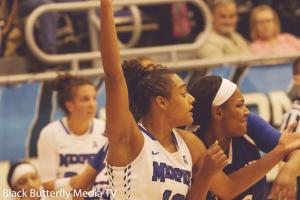 TSU, Taylor Roberts guarding Memphis, Cheyenne Creighton